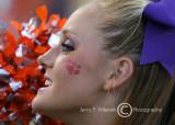 Clemson Tiger Cheerleader