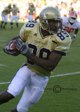 GT WR James Johnson hauls in a pass and makes his move up the sideline