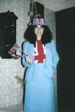Aug 1981 Getting ready in my room to head down to London for Charle's and Di's Royal wedding in London