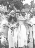 Queen Cleopatra on the British Aerospace Apprentice Float (Stevenage Carnival)