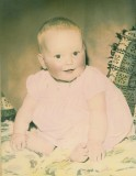 Baby me (1961, a 'vintage year') - never did like the short hair!
