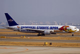 All Nippon Airways B767 - Special Woody Woodpecker Scheme