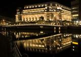 Fullerton Hotel By Night