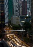 High Rise And Dense Traffic