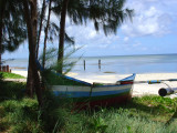 Saipan Beach and Boat