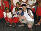 Tourist and Saipan Dancers