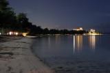 Beach Road at Night