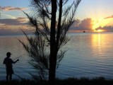 Sunset Fishing on Saipan