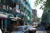 Yangon Street.