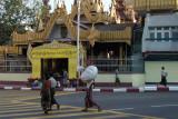 Sule Paya Entrance