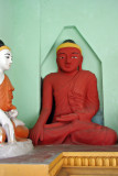Red Shwedagon Buddha
