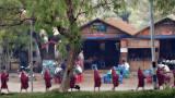 Child Monks - Bagan