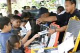 Saipan Fire Dept. at Environmental Awareness Day