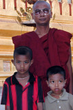 Monk with Boys