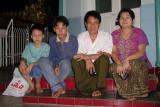 Family at Sule Paya