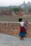 Selling Postcards (Bagan)