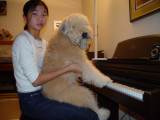 Misty Learning to Play Piano