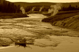 Firehole River in Yellow Stone National Park