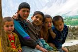 Hunza children....