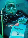 Happiness... underwater
