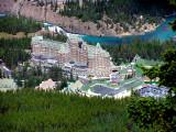Hotel from Banff Gondola