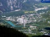 Banff From Gondola