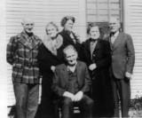 Shown left to right are: Norris, Jennie, Bertha, Nettie, Edward & Arthur Coatney.