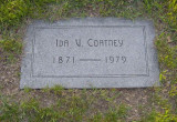 Ida is buried in Lincoln Memorial Park, Lincoln, Lancaster County Nebraska. I was a pallbearer at her funeral.