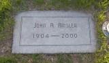 John Almond Amsler 1904-2000