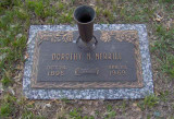 My great paternal grandmother Dorothy Mae Bishop Merrill lies in Lincoln's Memorial Park.