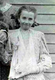 Ruth Elizabeth Merrill was the ninth of twelve children born to William John Whiston Merrill & his wife, Lillian Elizabeth T. Walker Merrill. In Saline County Nebraska, she married Charles Henry Finley. The original photograph shown was given to me by my grandmother, Hazel Alice Merrill. I am in possession of the original.