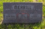 John Wilber Shields Merrill was the youngest of four children born to John H. Merrill & his wife, Catherine Anne Shields. He married Anna Mae White & together this couple had one known child. They're all buried in Pleasant Dale Cemetery, Pleasant Dale, Lancaster County Nebraska.