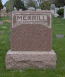Arthur Whiston Merrill was the eldest of two children born to John H. Merrill & his wife, Belle Carruthers Merrill. He married Elaine Abel and together this couple woudl have two children. Arthur Whiston Merrill lies in Wyuka Cemetery, Lincoln Nebraska.