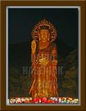 Golden Maitreya Statue