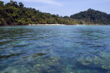Crystal clear waters of Ko Kradan