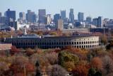 Mt. Auburn Cemetery and Boston Skyline