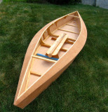 The building of a Kayak type boat