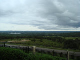 summer storm in Austin's hill country