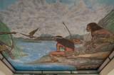 Mural No. 46 - Kiosko - The founding of Tenochtitlan (1978)