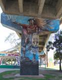 Mural No. 25 - Aztec Warrior (1978)