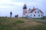 At Quoddy Head Lighthouse, Maine