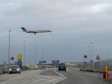 SAS plane landing