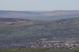 Colne and Scafell from Boulsworth Hill