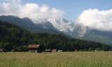 Zugspitze from Garmisch