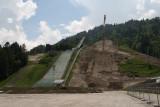 Garmisch ski jump construction