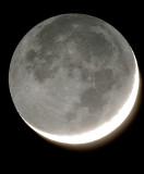 Lune cendrée du 15 août 2007