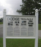 Dodge Land & Timber Troubles (1868-1923) -  Marker 6a