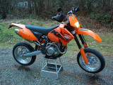 KTM 450XC- Plated with Motard Trim