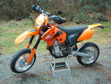 KTM 450XC in Motard Trim