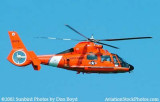 2002 - USCG HH-65A #CG-6578 from Air Station Miami Coast Guard stock photo